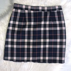 NWOT NASTY GAL COLLECTION Plaid Mini Skirt Size 4